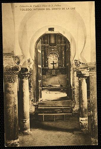 Mezquita del Cristo de la Luz (Toledo), a principios de siglo. 1912