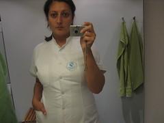 Nurse (Sakena) Tags: me sygeplejerske selfportrait nurseuniform sakena sakenajamig