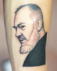 Padre Pio - Americo Tattoo L'Aquila Padre Pio -