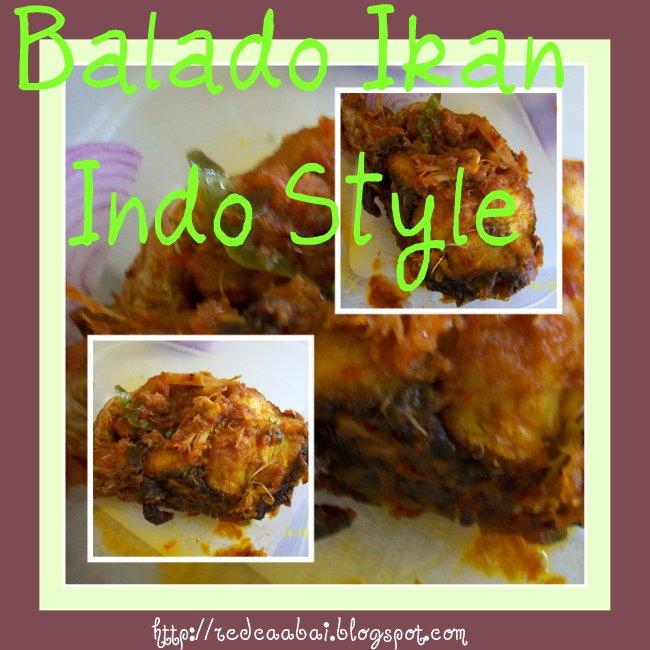 balado ikan indo style