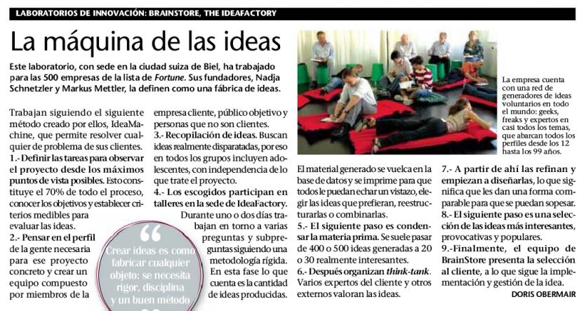 Revista Emprendedores. Nov.  2008