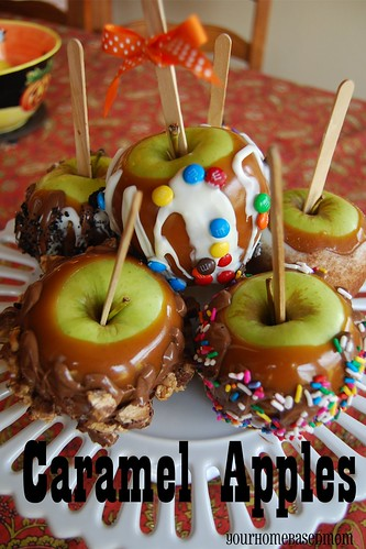 gourmet candy apple