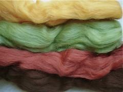Fibra de lã merino