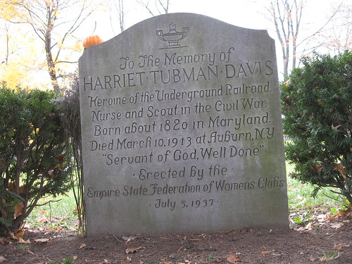 The Philosopher's Stone: Harriet Tubman Gravesite