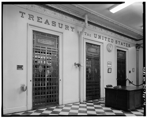 U.S. Treasury Department - Cash Room Doors
