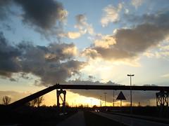 Down the Drain (Moser's Maroon) Tags: sunset lake zonsondergang sand mud pipes nederland thenetherlands artificial dredging modder drainage mire zand vleuten maarssen bagger contemporarylandscape boskalis haarrijnseplas afvoerbuizen