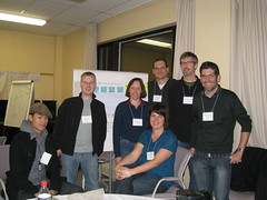 My Design Slam Team! (mastermaq) Tags: canada events alberta banff conferences userexperience mastermaq canux canux08