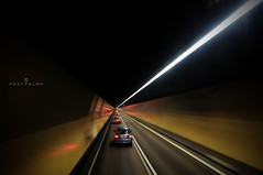 SAME SPEED (Phey Palma) Tags: bridge night hongkong exposure wide tunnel 1020mm d300 uwa pheypalma