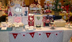 Craft Fair 16 Nov 08 (heartfelthandmade) Tags: christmas display handmade craft stall fair felt heartfelt