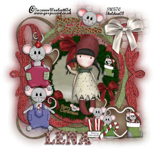 Merry_christmice_lena by you.