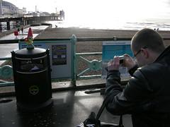 Metaphoto, Tom #1 and Tom #5 (devopstom) Tags: pier gnome brighton metaphoto amelie tom1 travellinggnome tom5 slashtom
