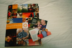 Inspire Health brochure and cards at Flickr.com