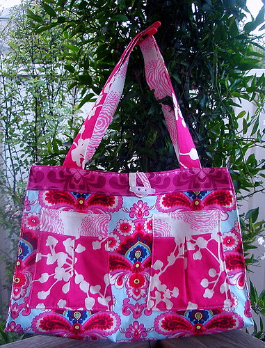 Black Forest Bag - Amy Butler Belle & Midwest Modern Fabrics