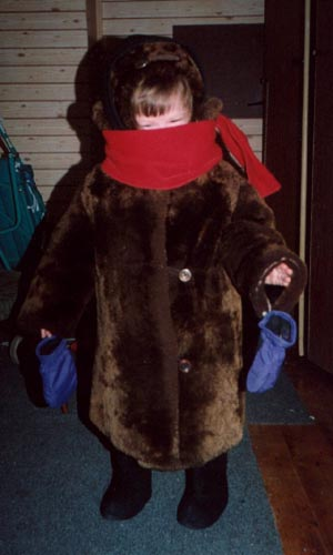 Russian winter gear for kids (1997/8)