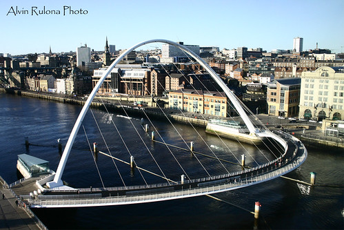 Millenium Bridge top view