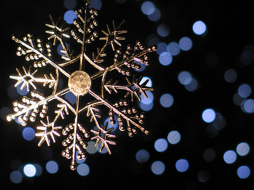 I'm dreamin' of a white bokeh . . .