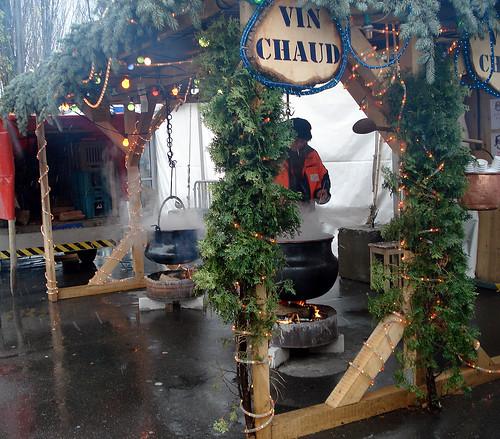 Vin Chaud stall