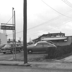 Jack Davis Motors circa 1948