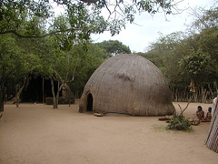 Traditional Zulu house