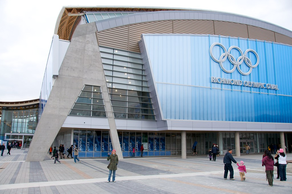Dorothy at the Olympic Oval
