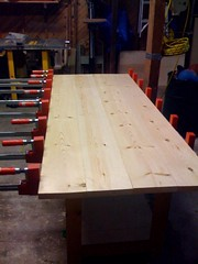 Dresser Top Glue Up (sommerspeople) Tags: fone