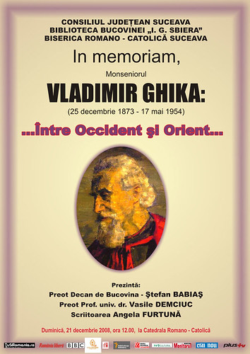 21 Decembrie 2008 » In Memoriam, Monseniorul Vladimir GHIKA