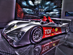 Audi Diesel R10 TDI Diesel Le Mans Racing Car - Geneva Motorshow (www.bazpics.com) Tags: favorite inspiration car race wonderful tdi switzerland photo exposure flickr geneva image diesel map many shell images racing best several german winner inspirational favourite audi inspire mapping michelin tone lemans hdr highdynamicrange inspiring motorshow deutsch mapped multipleexposures r10 greatphotographers tonemapped