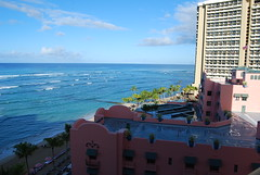 View from RH #1106 (chibirashka) Tags: travel hawaii royalhawaiian