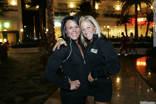 Aleesha and Kira  at the 2009 NPC USAs