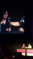 Mona Speaking on the Lifestreaming Panel at the 140Conf at the Kodak Theater