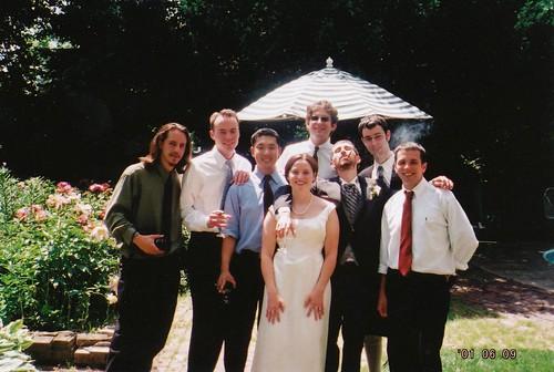 Chet, Chris Lee, Keisuke, Emily, Deron, Yancy, Geoff, Rodrigo
