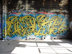AMUSE (Same $hit Different Day) Tags: graffiti bay berkeley east emt amuse sik