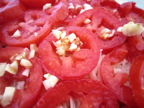 Garlic and tomatoes