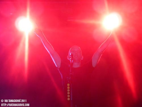 Moby live in Belgrade