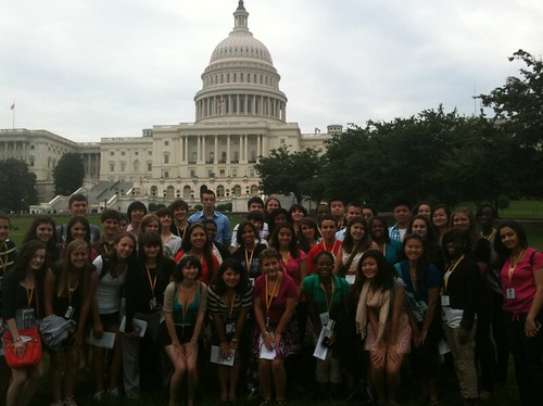 NSLC Law and Advocacy Program visits the U.S. Capitol