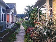 3rd St Cottages, Langley, WA (courtesy of The Cottage Company)