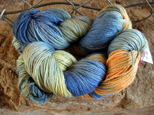 sock yarn from mama e!