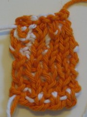 Double knitting swatch 2