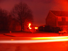 Long slow shutter speed - low f-stop (waveydavepike2007) Tags: light cars dark slow images shutter passing ghostly fstop