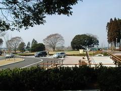 昭和の森公園の第2駐車場