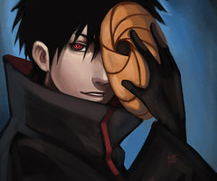 Tobi (Like Magic) Tags: anime art fan fanart tobi naruto uchiha akatsuki madara obito