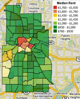 Minneapolis Rental Prices