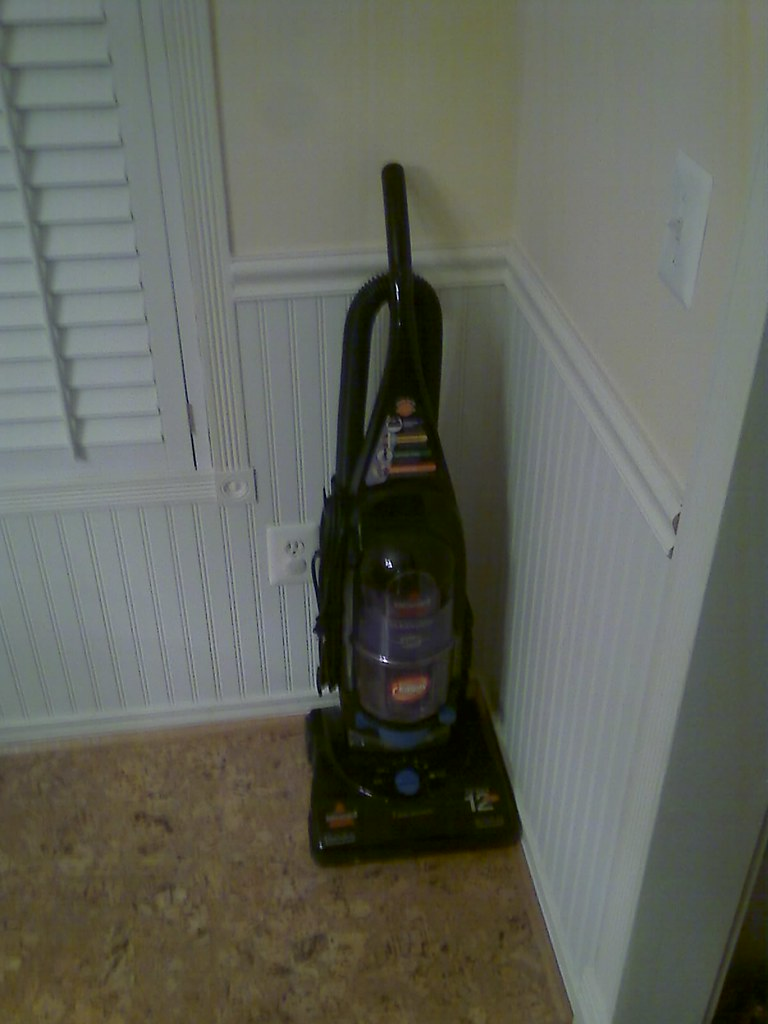 How the heck did I lose a vacuum?