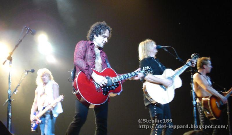 Sav, Viv, Joe, & Phil - Def Leppard - 2008