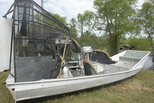 Whiskey River Fan Boat
