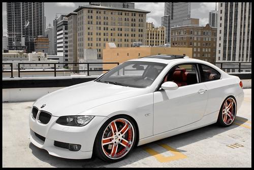 BMW 335i on Sevas Forged AP 51