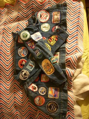 Sweet vintage jean jacket