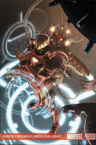 Invincible Iron Man #1 Larroca