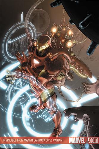 Invincible Iron Man #1 Larroca