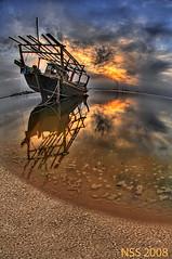 (N-S-S) Tags: sunset sea nikon sigma kuwait  nasser d300 105mm       vwc     d2xs    kvwc    alsolihem